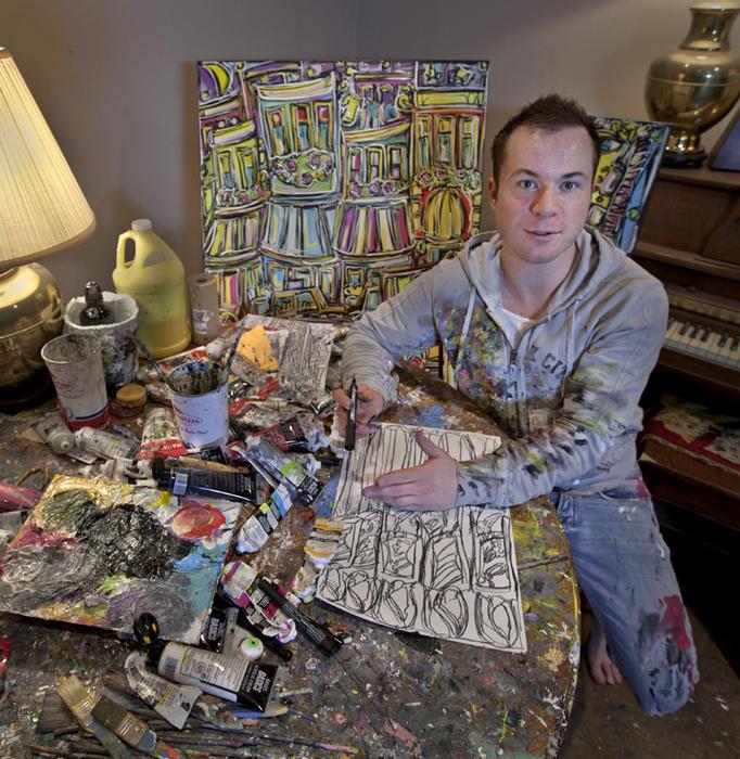 Saskatchewan NAC | Artist of the Month - Jason Robins