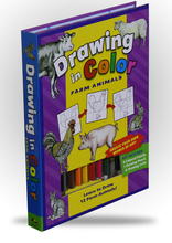 Drawing in Color - Farm Animals