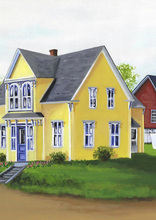 Related Product - Yellow House in the Village