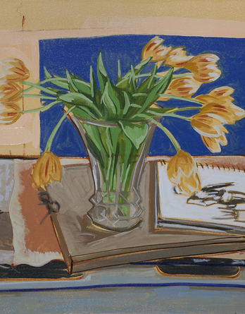 Tulips on Table - Image 1