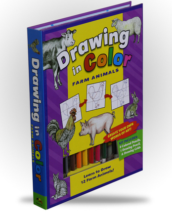 Drawing in Color - Farm Animals - Image 1